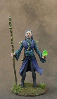 Dark Sword Miniatures (DSM7624 Male Mage With Staff)