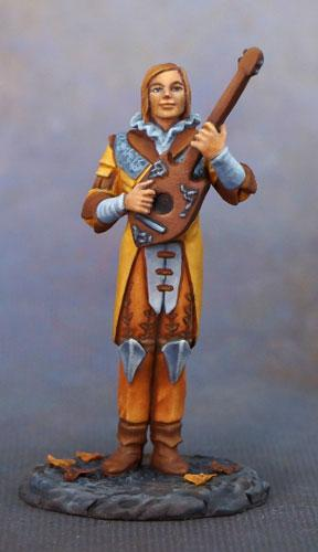 Dark Sword Miniatures DSM7636 Male Bard With Lute