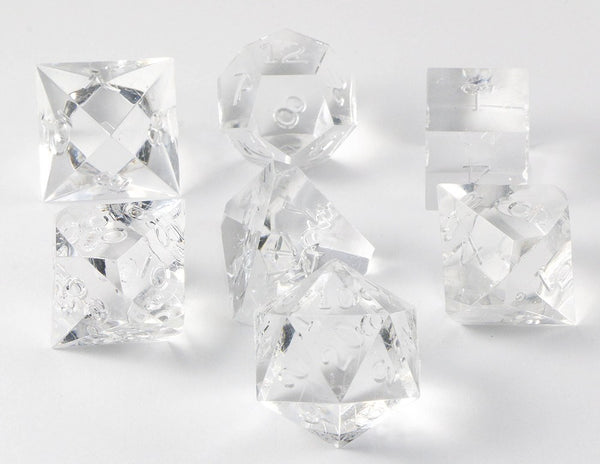 Gamescience Dice Diamond Gem 7 Piece Rpg Precision
