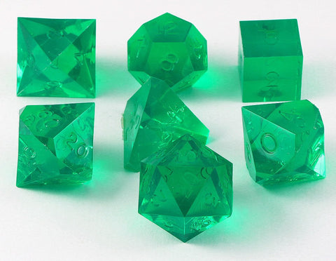 Gamescience Dice Emerald 7 Piece Set