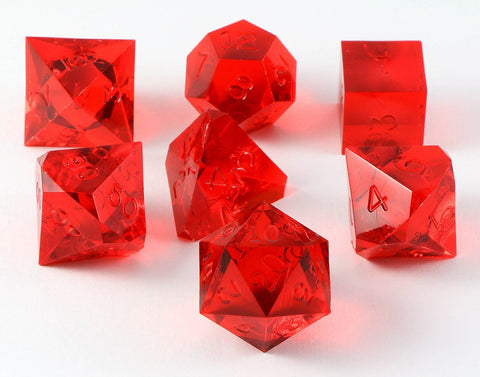Gamescience Dice Ruby 7 Piece Set