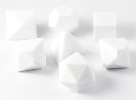 Gamescience White Dice