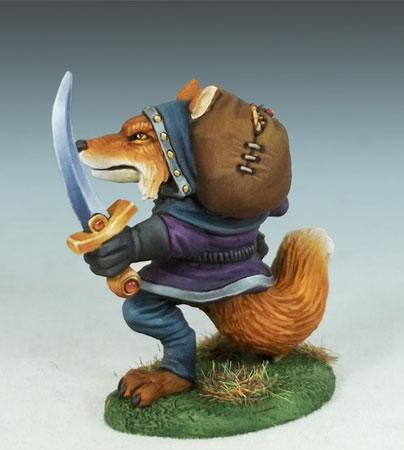 Dark Sword Miniatures DSM8014 Kitsune Rogue