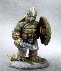 Tortle miniature fighter 1