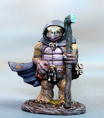 Tortoise-Folk Mage miniature