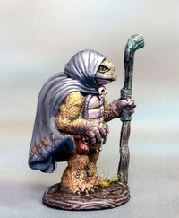 Tortoise-Folk Mage miniature 2