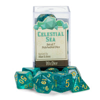 Celestial Sea D&D dice