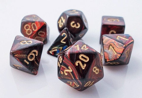 Scarab Dice Blue Blood