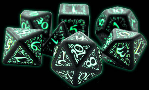 Elven Dice Glow In The Dark