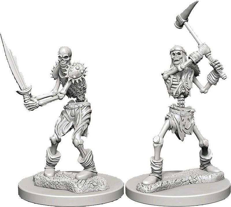 Dungeons & Dragons Miniatures Skeletons