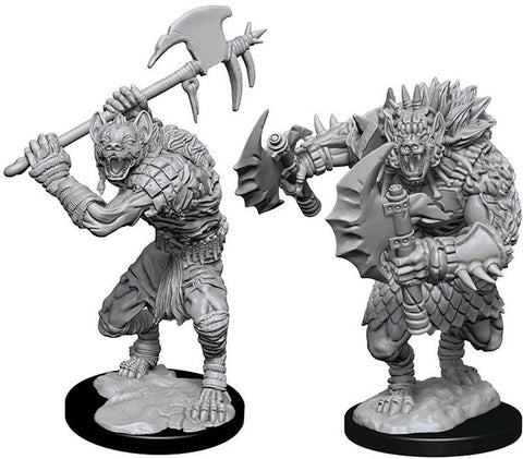 Dungeons & Dragons Miniatures Gnolls