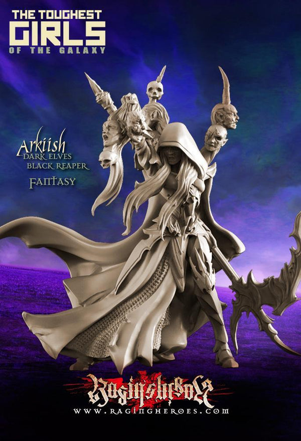 Raging Heroes Miniatures Arkiish, The Black Reaper
