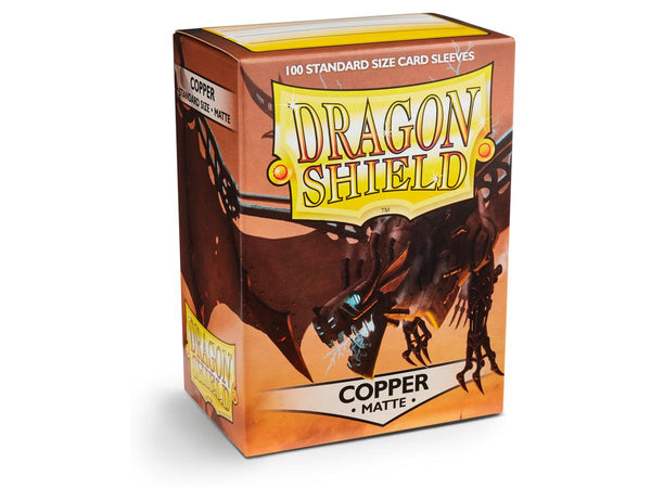 Dragon Shield Card Sleeves Matte Copper