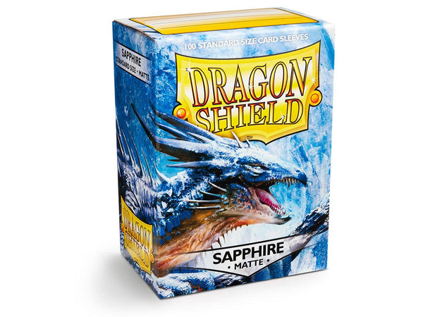 Dragon Shield Card Sleeves Matte Sapphire