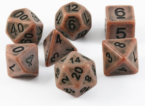 ancient dice copper