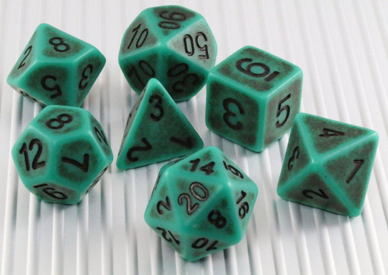 Ancient Dice Green