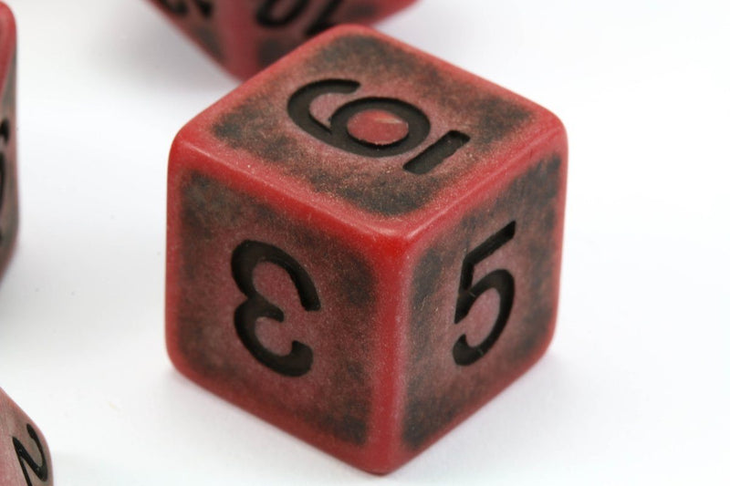 Ancient Dice Red