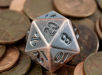 D&D Metal Dice