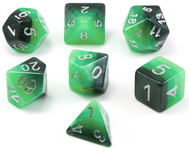 D&D Arcane Dice Green