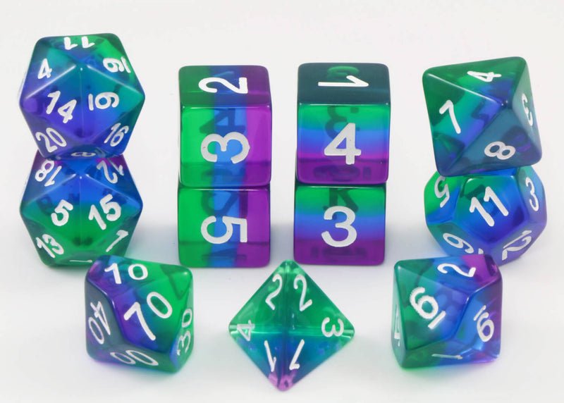 Cool DnD Dice Blue