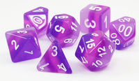Purple Cool D&D Dice