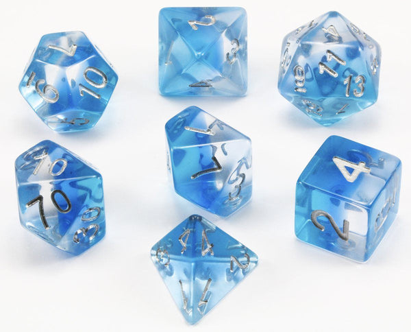 D&D Dice Aurora Ice