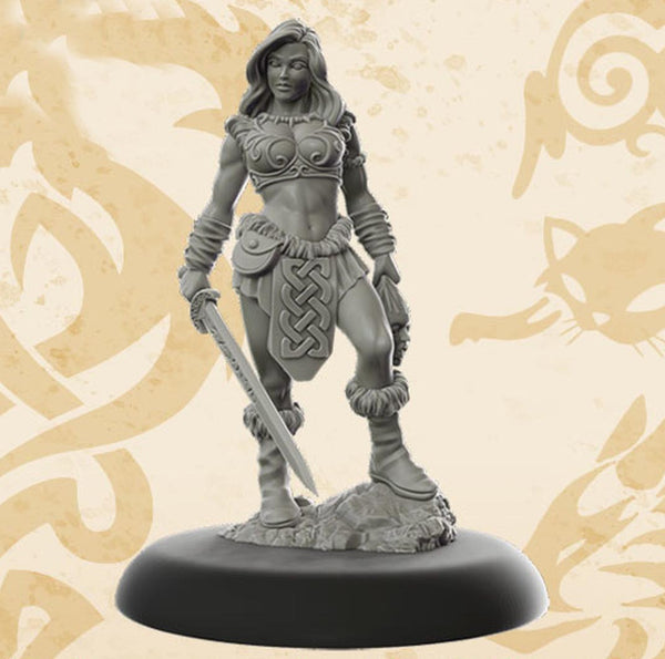 Bombshell Miniatures BOM10003 Tara The Blademistress