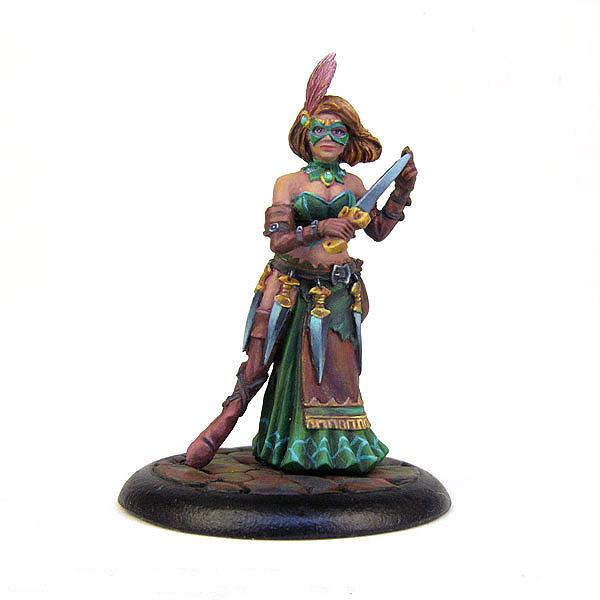 Bombshell Miniatures BOM10059 Assassin With Daggers