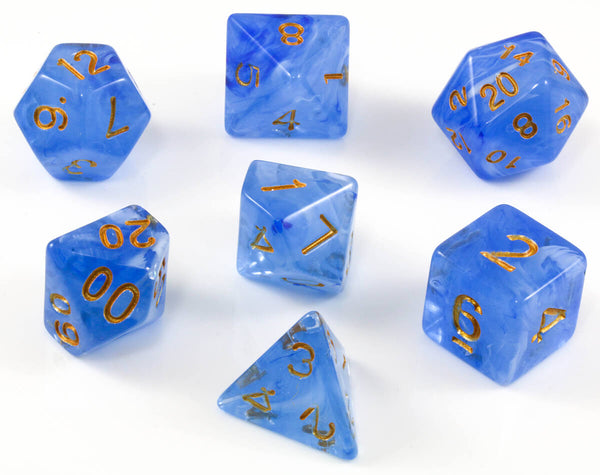 Blue Banshee dice for DND