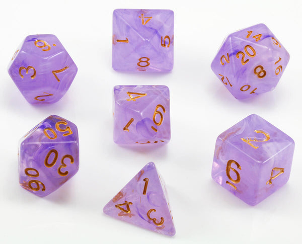 Banshee purple dice
