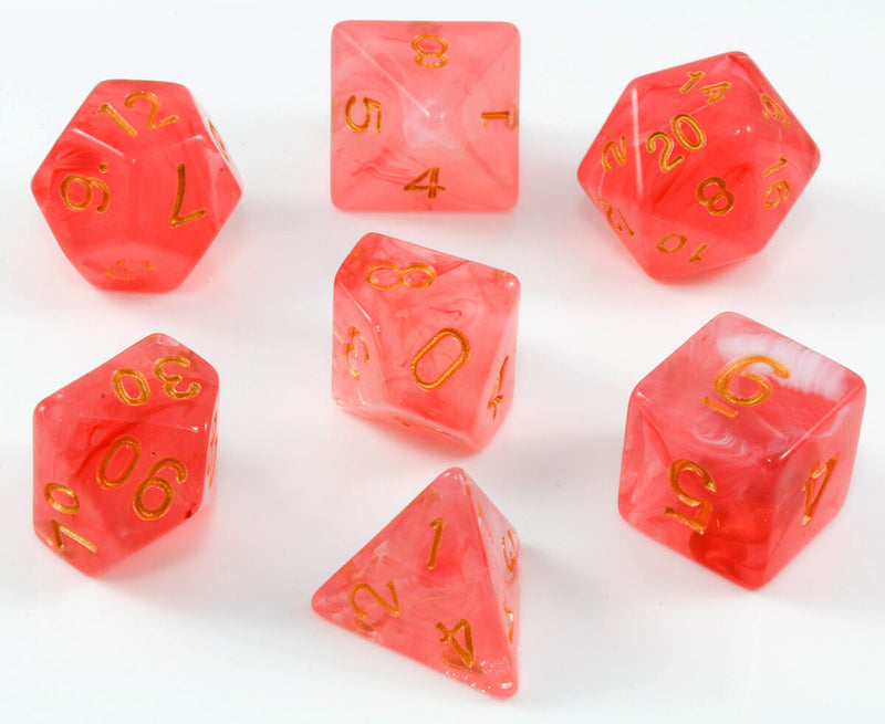 Banshee dice red