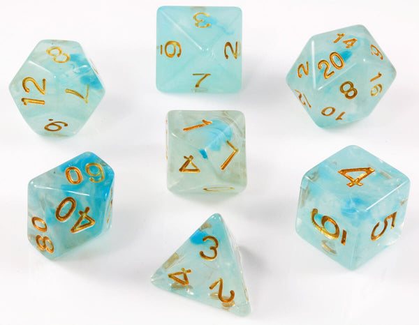 Banshee teal dice