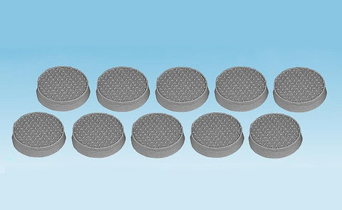 Scifi miniatures bases diamond plate