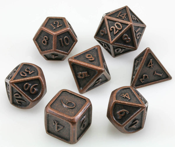 Berserker Dice Ancient Copper