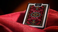 Dragon Back Playing Cards Red 1