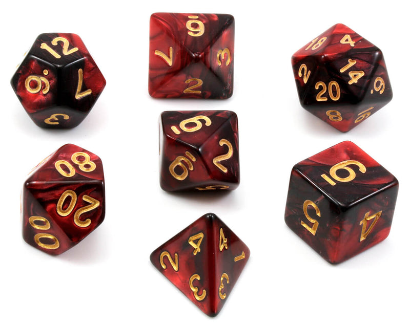 D&D Dice Blood Magic