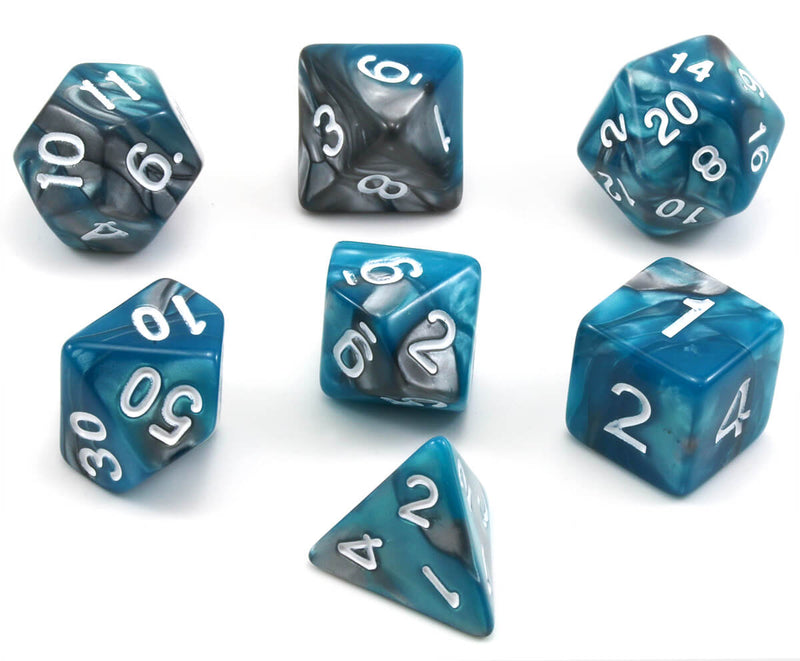 Blended Dice (Divine Magic) RPG Role Playing Game Dice Set