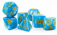 rpg dice sky blue pearl