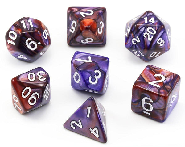 D&D Purple Dice Wild Magic