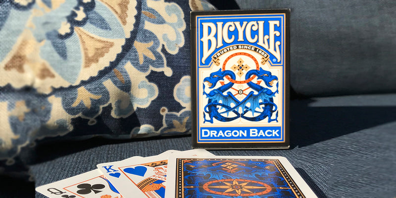 Dragon Back Playing Cards Blue 2