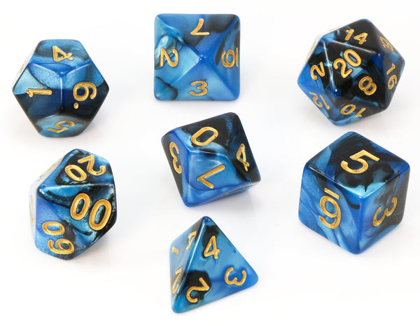 Blue Assassin Dice