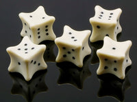 Six-sided Bones dice