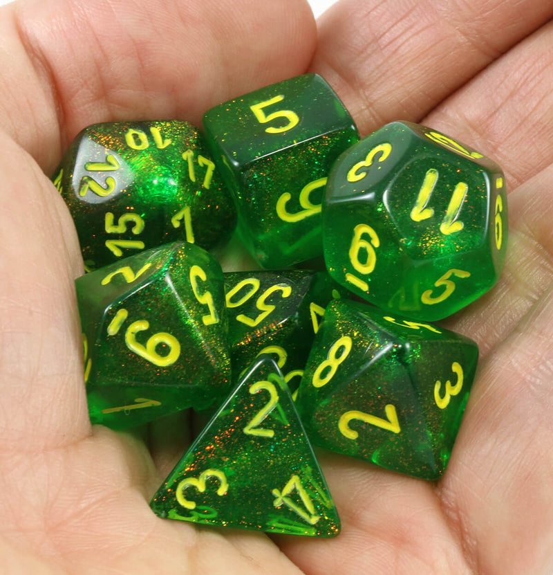 Awesome dice Borealis Maple Green