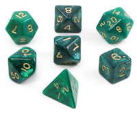 Green D&D Dice