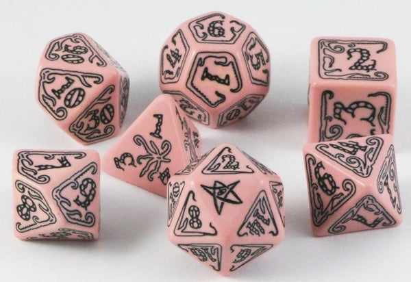 Call of Cthulhu Dice Pink