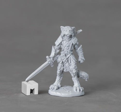 Catfolk Tabaxi Miniature