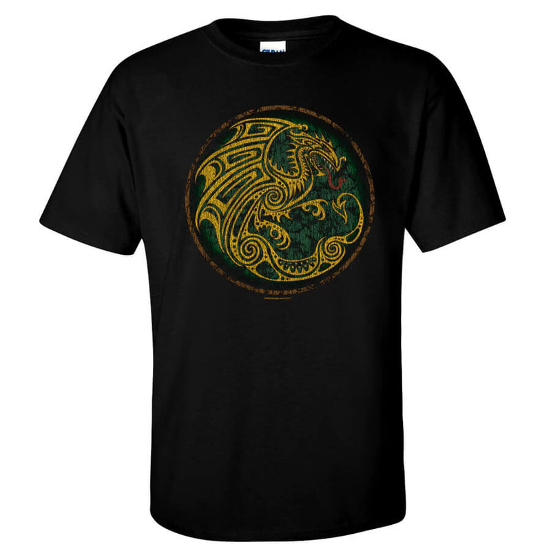 Roleplaying T-shirt Celtic Dragon