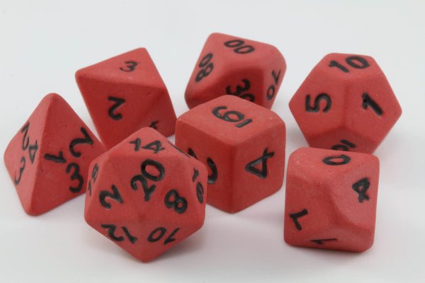 Ceramic Dice Fireball