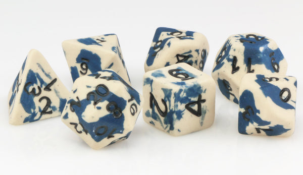 Ceramic Dice Stone Wash