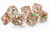Christmas D&D Dice Set